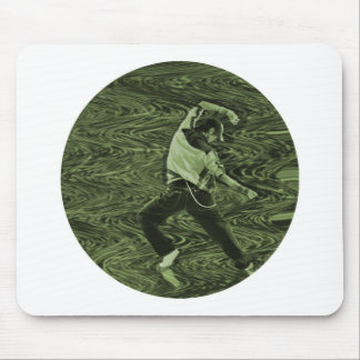 "celebrate ""green"" mouse pad"