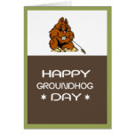 Celebrate Groundhog Day Card