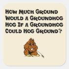 Celebrate Groundhog Day Sticker