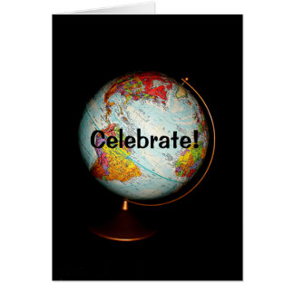 Celebrate!  Happy Earth Day Card