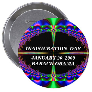 CELEBRATE HISTORY_ Button_by Elenne Boothe 4 Inch Round Button