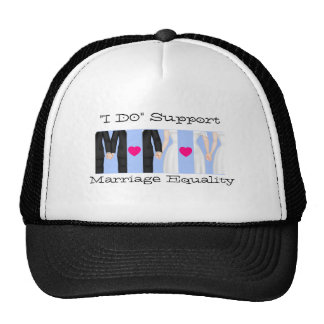 Celebrate I Do Support Marriage Equality Love Trucker Hat