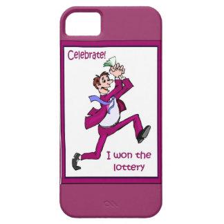 Celebrate! I won the lottery! iPhone SE/5/5s Case