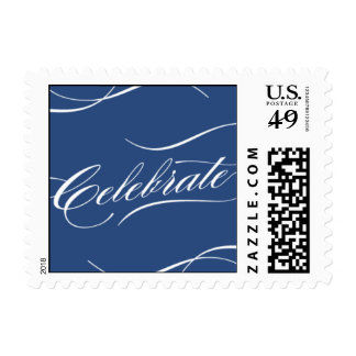 Celebrate in Navy Postage Stamps