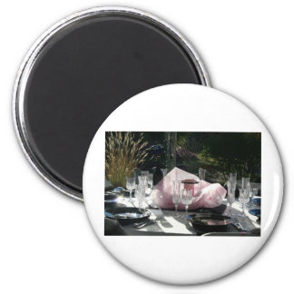 Celebrate in pink magnets