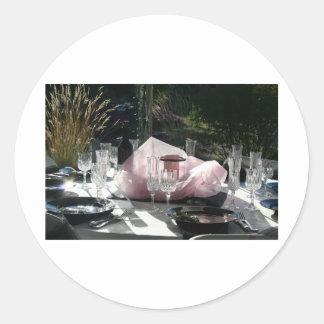 Celebrate in pink sticker