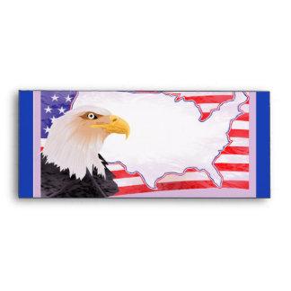 Celebrate Independence Eagle Envelopes