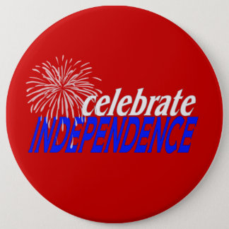 Celebrate Independence Pinback Button