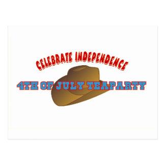 Celebrate Independence Postcard
