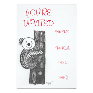 Celebrate invitation card