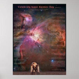 Celebrate Isaac Asimov Day