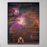 Celebrate Isaac Asimov Day Poster