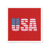 Celebrate It ALL! July 4th Party Paper Napkins