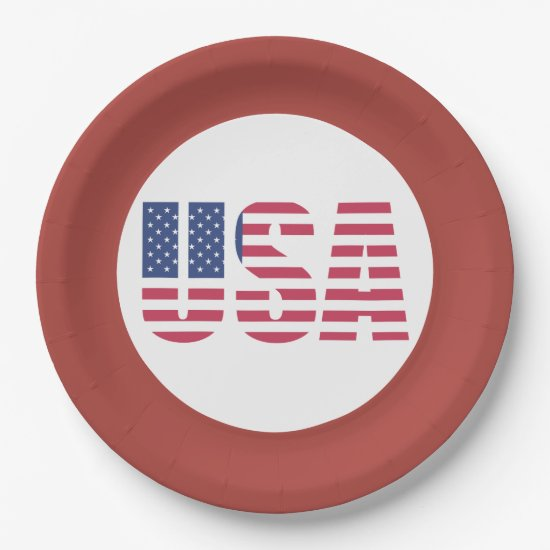 Celebrate It ALL! July 4th Party Paper Plates
