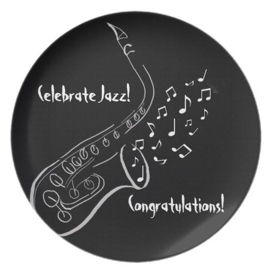 Celebrate Jazz Plate