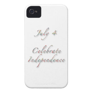 Celebrate July 4 Independence Day iPhone 4 Cover