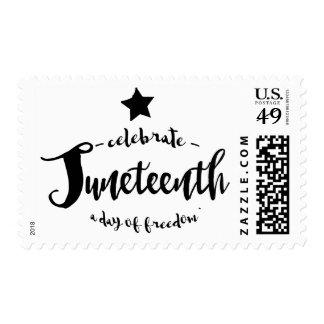 Celebrate Juneteenth Postage Stamp