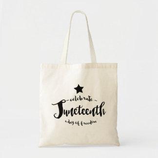 Celebrate Juneteenth Star Tote Bag