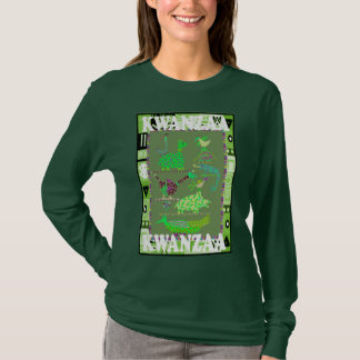 Celebrate Kwanzaa,animals of africa T-Shirt