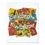 Celebrate Kwanzaa Collage Custom Invites