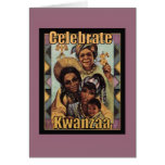 Celebrate Kwanzaa Holiday Greeting Cards