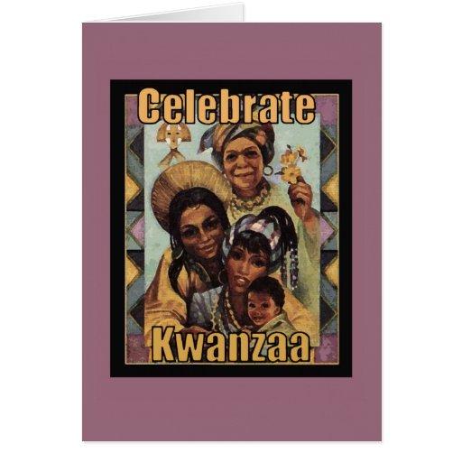 Celebrate Kwanzaa Holiday Greeting Cards