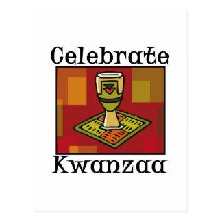 Celebrate Kwanzaa Postcard