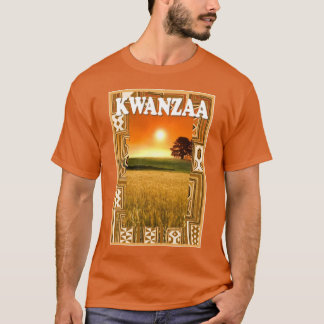 Celebrate Kwanzaa,  sunset in the countryside T-Shirt