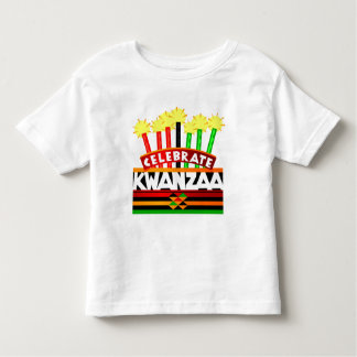 Celebrate Kwanzaa Toddler T-shirt