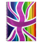 Celebrate Legal Gay Marriage in the UK! Spiral Notebooks