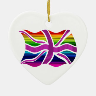 Celebrate Legal Gay Marriage in the UK! Christmas Ornaments