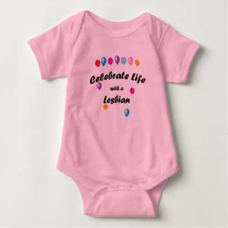 Celebrate Lesbian Baby Bodysuit