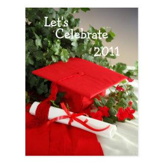 Celebrate, Let's, 2011 Postcard