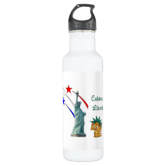 Celebrate Liberty 24oz Water Bottle