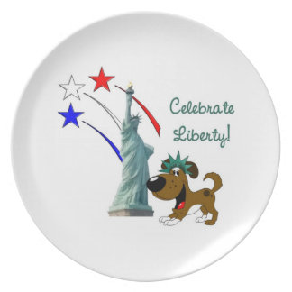 Celebrate Liberty Party Plate