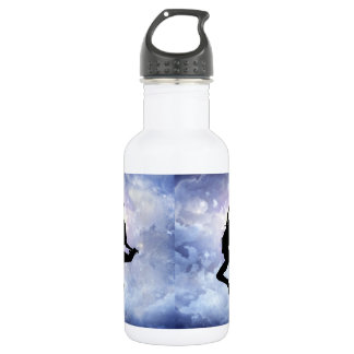 Celebrate life and light water bottle