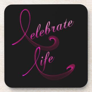 Celebrate Life Beverage Coaster