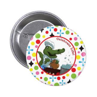 Celebrate Life Pinback Button