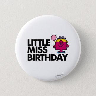Celebrate Little Miss Birthday Pinback Button
