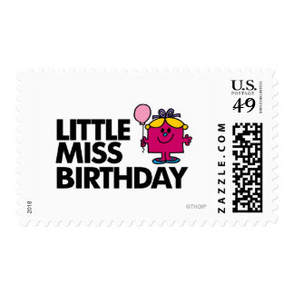 Celebrate Little Miss Birthday Stamps