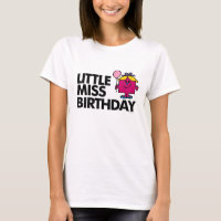Celebrate Little Miss Birthday T-Shirt
