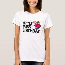 Celebrate Little Miss Birthday T-Shirt