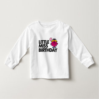 Celebrate Little Miss Birthday Toddler T-shirt