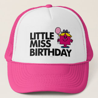 Celebrate Little Miss Birthday Trucker Hat
