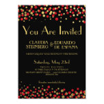 Celebrate Love – Candy / Apple Red + Gold Card