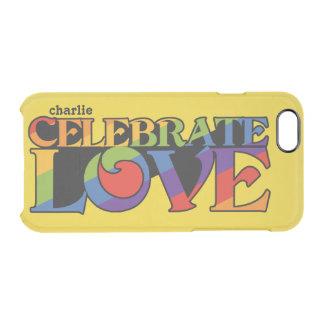 Celebrate Love custom monogram cases