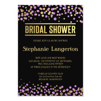 Celebrate Love – Lavender / Purple + Gold Card