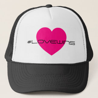 Celebrate Love Wins Equality Love Trucker Hat
