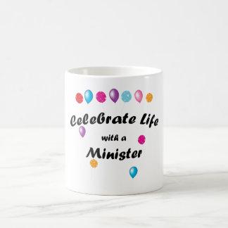Celebrate Minister Mug