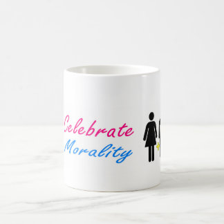 Celebrate Morality and traditional marriage Coffee Mug
